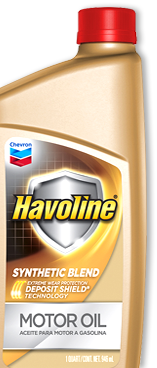 Havoline Synthetic Blend Motor Oil