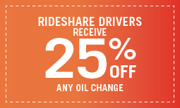 Rideshare 25% off Coupon
