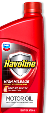 Havoline High Mileage Motor Oil