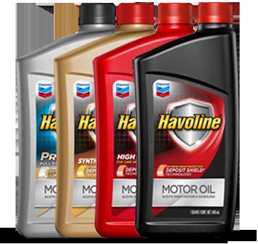 Havoline Oil Change